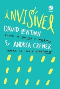 invisivel 202x300 - Bienal traz autor conhecido pela diversidade LGBT em seus livros, David Levithan.