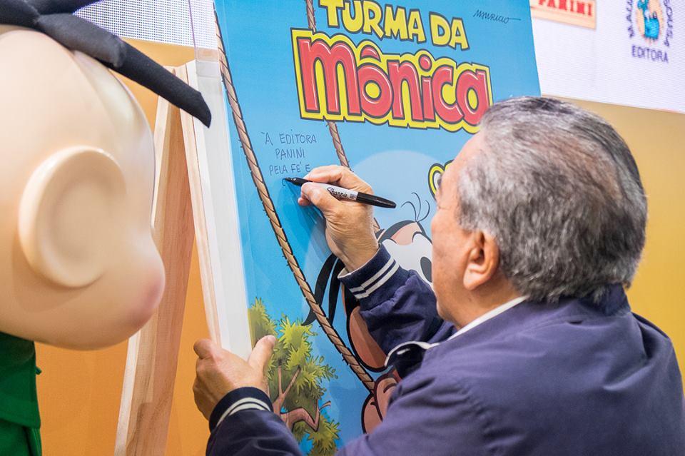 38518109 2211983675482709 1890598316836651008 n - Quadrinho da Turma da Mônica entra para o Guinness World Records