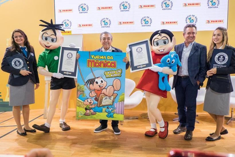 38528654 2211983528816057 7851359457295466496 n - Quadrinho da Turma da Mônica entra para o Guinness World Records