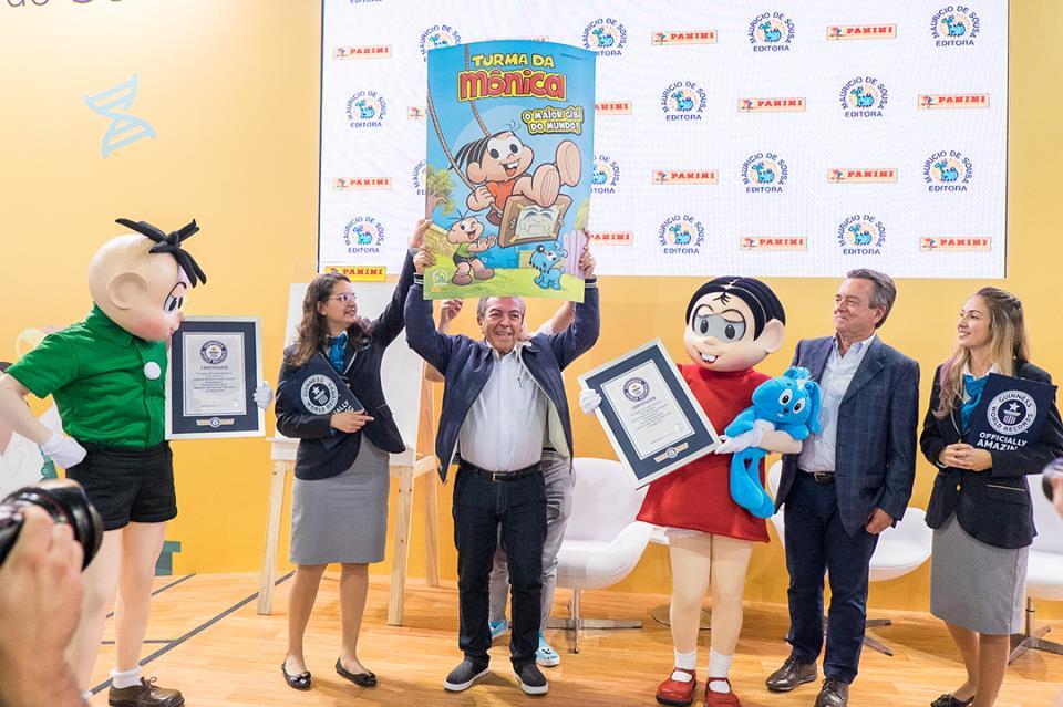 38670914 2211983772149366 5352684661443133440 n - Quadrinho da Turma da Mônica entra para o Guinness World Records