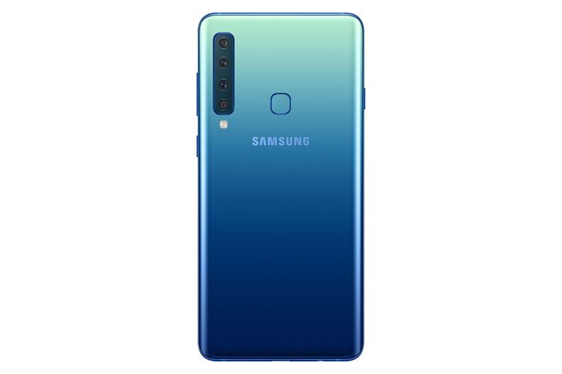 a9 tras - Samsung anuncia o novo Galaxy A9 com 5 câmeras.