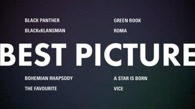 melhor filme - Indicados ao Oscar 2019