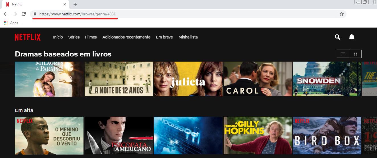 netflix - Netflix | Códigos para busca de conteúdos!